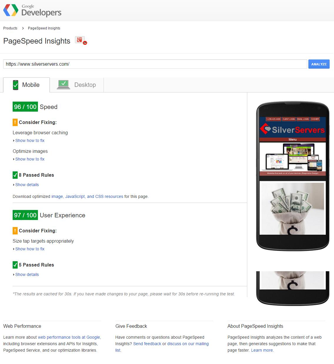 SilverServers Kamloops Number 1 Google SEO