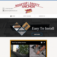 Roof Top Safety Anchor Website Launch