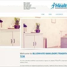 Kamloops Website Design for BlueWhite Health Launched