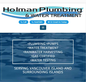 Holman Plumbing & Water Treatment