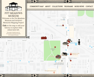 SilverServers Designs Community Mapping Software that Contributes to an Award for Pitt Meadows Museum