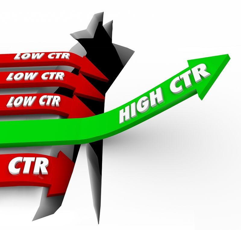 Organic Traffic Has Higher Click Through Rates
